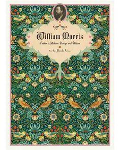 Livre William Morris, Father of Modern Design and Pattern, text by Hiroshi Unno   Entre 35€ et 39€   Disponible à la librairie du musée des arts décoratifs ou sur le site de la Fnac