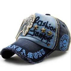 1 Pcs 2016 Unisex Brand Fashion lovers Baseball Cap Sports rivet Snapback  100% Cotton Hats 4022470518e6