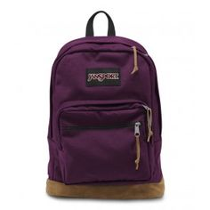 Maroon Jansport Right Pack Backpack. This will be my backpack. ~Dash