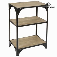 Etagère toronto - Collection Thunder by Craftenwood
