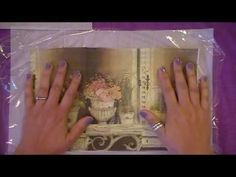 Paper Napkin Transfer Tutorial - YouTube