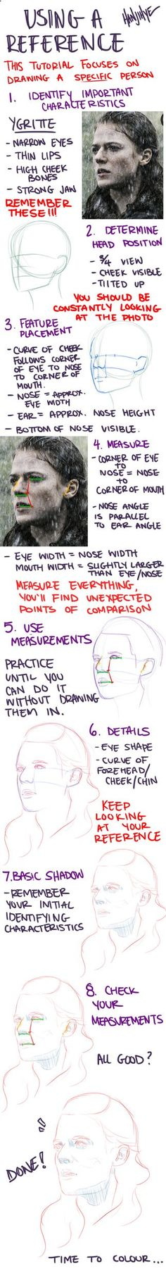 Pencil Portrait Mastery - A portrait tutorial in response to a tumblr ask. Let me know if you have any questions! NOTE: Measuring is really the most important step (in my opinion). Really, MEASURE EVERYTHING ITS SUPER HELPF... Discover The Secrets Of Drawing Realistic Pencil Portraits