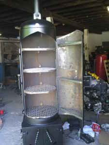 Stand Up Smoker Designs : Meat smoker plans google search bbq s smokers bbq pit