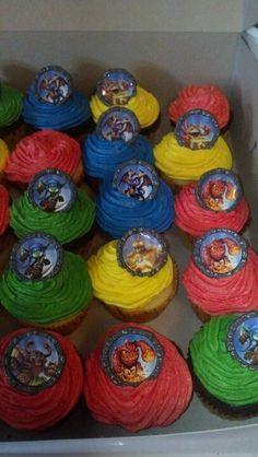 Skylanders Giants Cupcakes
