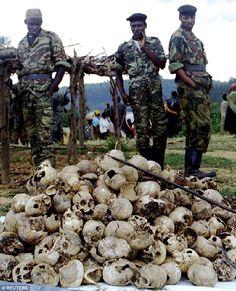 Image of Rwanda genocide.