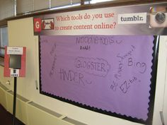 Interactive Online Content Area