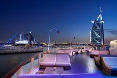 View from 360 bar. Dubai
