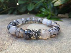 #Mensbracelet #Menbracelets #Faceted #AGATE #bracelet #OWLbracelet #Wisdombracelet #SpiritualBracelet #MeditationBracelet by Braceletshomme $26.50