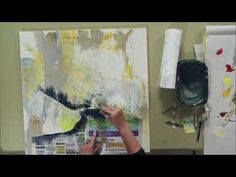 Joan Fullerton's Mixed Media Art Techniques - YouTube