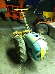 Our Garden Tractors - Rare Garden Tractors Antique Tractors, Vintage Tractors, Old Tractors, Lawn Tractors, Tractor Room, Pink Tractor, Walk Behind Tractor, Yanmar Tractor, Garden Tractor Pulling