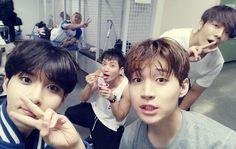 Ryeowook Leeteuk Henry Donghae y kangin hasta el fondo XD
