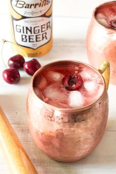 Very Cherry Moscow Mule   cakenknife.com