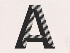 Dribbble - A by Paul