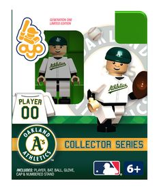 A's Collector Series Minifigure - Oakland Athletics