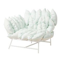 IKEA IKEA PS 2017 Corner easy chair with 18 cushions White/off-white You can mount the armrest on the right or left side.