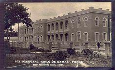 RS # 103 Type 5 and 6 - PONCE - Hospital 'Asilo de Damas'. - Unused c. 1940's.   by ARCHIVO HISTORICO Y FOTOGRAFICO DE PUERTO RICO