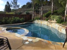12,000-gallon pool/spa combo that we recycled last night!