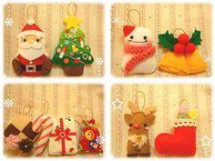 *手作りフェルト*クリスマスオーナメント♪ ( 工芸 ) - Cotton Emayu*えまのハンドメイドブログ - Yahoo!ブログ