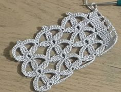 Crochet Motif Patterns, Crochet Lace Edging, Irish Crochet, Crochet Flowers, Diy Crafts Crochet, Crochet Projects, Crochet Stars, Lace Headbands, Crochet Videos