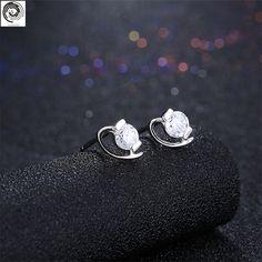 fb3b9e582 LianZhi Ladies' silver earrings SH E0070-in Drop Earrings from Jewelry &  Accessories on Aliexpress.com | Alibaba Group