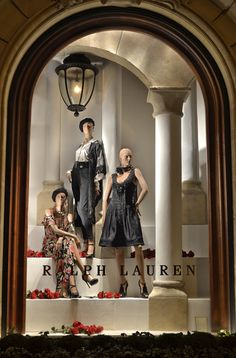 The Spring 2013 Collection epitomized by the elegant decor of our St. Germain store windows
