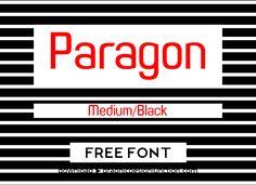 Paragon Free Font #freefonts #fontsfordesigners #fonts2014 #bestfonts2014 #downloadfreefonts