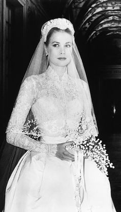 The Best Celebrity Wedding Dresses - Grace Kelly from #InStyle
