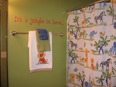 i like the quote!  perfect for my boys' bathroom!