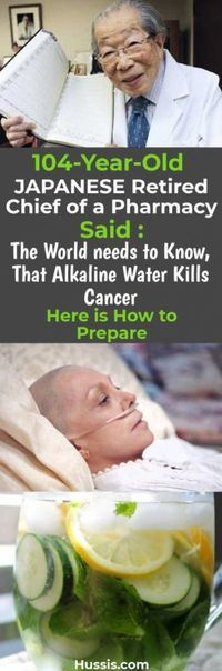 Alkaline water has the ability to kill cancer! Who would think that this is true… - Daily Natural Cures Health And Beauty Tips, Health Tips, Health And Wellness, Health Fitness, True Health, Wellness Tips, Health Care, Get Healthy, Healthy Life