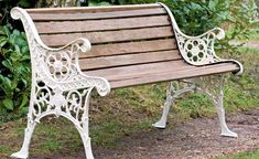 How to restore a garden bench. Done this before. Was more fun than buying a new one.