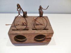 Zelzame ratten - en muizenval - hout en ijzer - Collectors -item