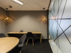 Garda Offices QLD - DC8 Studio Brisbane Cbd, Offices, Conference Room, Interiors, Interior Design, Studio, Table, Furniture, Home Decor