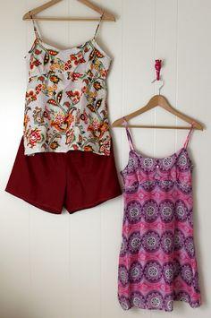 Hello Beautiful: pajamas sewing pattern