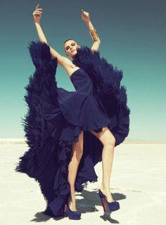 extravagant dresses!