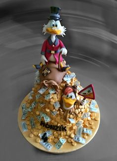 Scrooge - Cake by Romana Bajerová