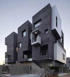 AEA architecture creates volumetric H-1115-7 building in korea