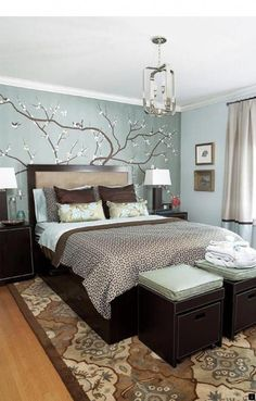 Another blue and brown bedroom inspiration. izrobertson Another blue and brown bedroom inspiration. Another blue and brown bedroom inspiration. Blue Brown Bedrooms, Blue Bedroom, Dream Bedroom, Bedroom Colors, Pretty Bedroom, Bedroom Brown, Bedroom Romantic, Modern Bedroom, Blue Rooms
