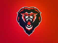 Great Britain Baseball Lion Logo