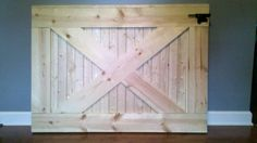 Custom, Handmade Farmhouse Wooden Baby/ Dog Gate. Ready For Paint Or Stain…