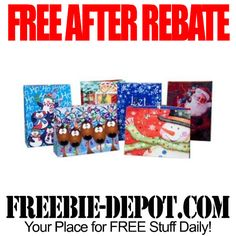 ►► FREE AFTER REBATE - 8 Gift Bags from Tiger Direct - Exp 7/31/15 ►► #FreeAfterRebate, #FreeChristmas, #FREEbate, #TigerDirect ►► Freebie-Depot