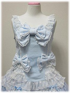 Angelic Pretty / Cutsew  Knit / Proper Girl Sleeveless Cutsew