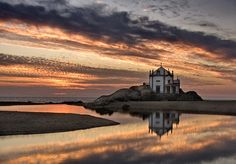 A church in the sea (Miramar, Portugal)