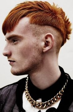 Matthew Gillespie for RoCo Mens Collection 2015 'Heroes' Hair : Ronan Stewart and Michael Deery Photography David Paul Vail Short Red Hair, Short Hair Cuts, Short Hair Styles, Best Short Haircuts, Haircuts For Men, Asymmetrical Hairstyles, Straight Hairstyles, Face Men, Hair Photo
