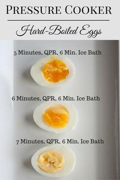 pressure cooker Hard-boiled eggs (1)