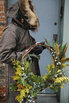 Wreath making by Fox Fodder Farm | Nicole Franzen | by Nicole Franzen Photography