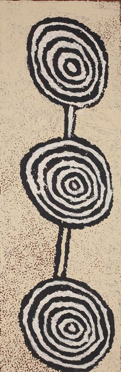 Johnny Yungut Tjupurrula - Untitled 87 x 28 cm, acrylic on Belgian linen, 2011