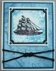 Ship Adrift by Muffin's Mama - Cards and Paper Crafts at Splitcoaststampers
