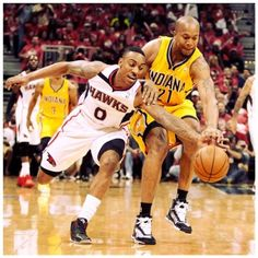 Go after that #Spalding #relentlessly and Beat your #opponent to the #Ball #like #AtlantaHawks #JeffTeague who #Love2Ball and should be #voted on the #East #NBA #AllStar #Team … follow the #Brand @thareall2b #Love2Ball #L2BElite #L2BEliteSquad … Name the #starting #five for the #East #AllStarTeam