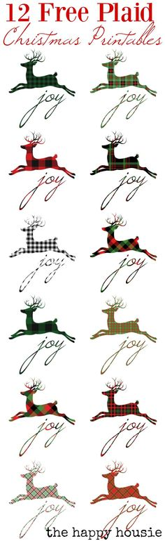 Mad for Plaid Christmas Style series featuring beautiful plaid christmas style decor, inspiration, crafts, DIYs and free plaid christmas printables. Plaid Christmas, Christmas Fashion, Christmas Signs, Rustic Christmas, Christmas Projects, Winter Christmas, All Things Christmas, Holiday Crafts, Christmas Decorations