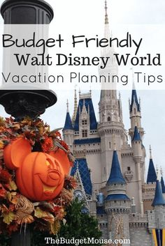 Disney world vacation planning tips for visiting on ANY budget! You can make a budget-friendly trip to Walt Disney World and I'll show you how. #disneyworld #familytravel #budgettravel